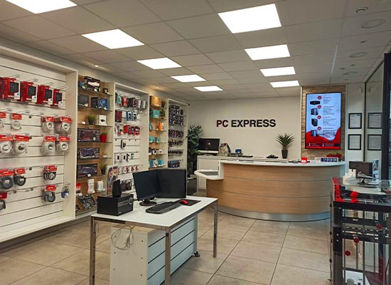 magasin PC Express de Rouen